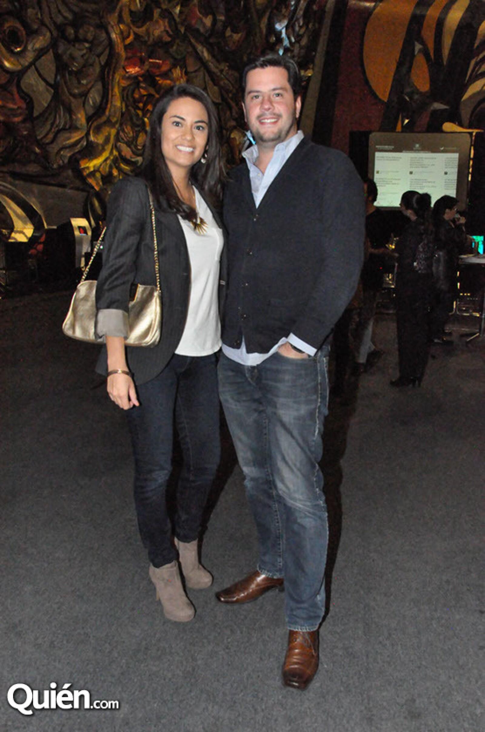 Cristina Gomezrrendon y Kristian Díaz Lebrija