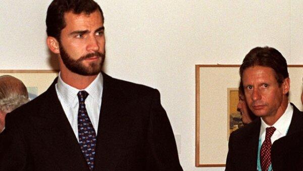 Así se veía el heredero a la corona española cuando tenía 30 años.