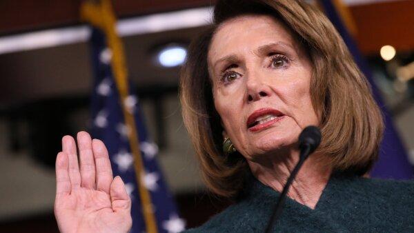 Nancy Pelosi Trump mensaje gobierno