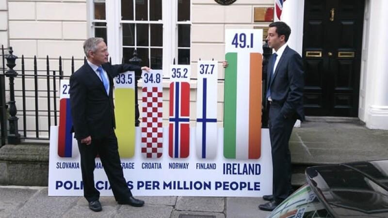 Irlanda votación Senado