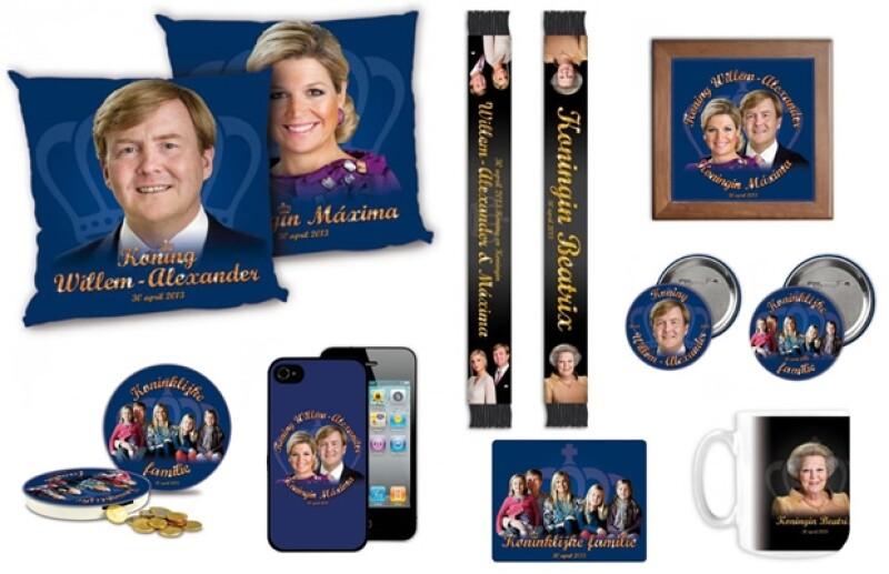 Será el próximo 30 de abril cuando la reina Beatriz de los Países Bajos entregue la corona a su hijo Guillermo Alejandro. En el país ya hay souvenirs conmemorativos.