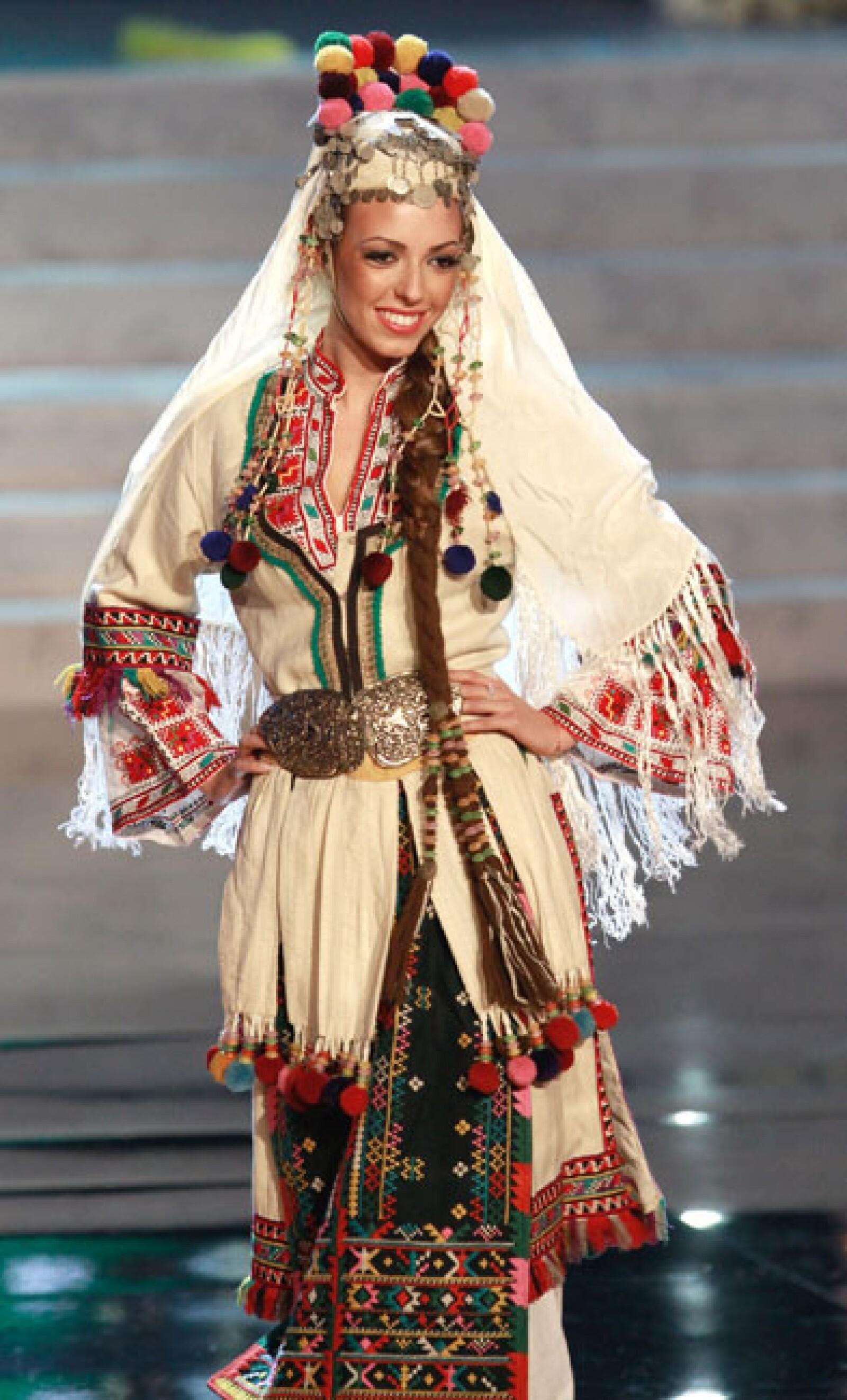 Miss Bulgaria, Zhana Yaneva.
