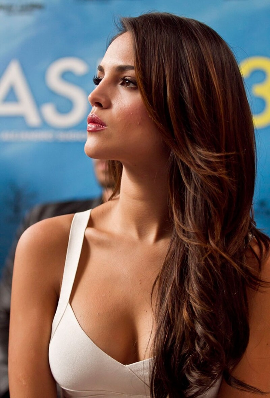 """La actriz está en México promocionando su cinta """"Casi 30""""."""