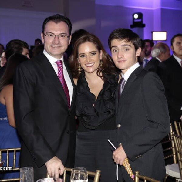 Luis Videgaray (Secretario de Hacienda y Crédito Público),Virginia Gómez del Campo,Luis Videgaray