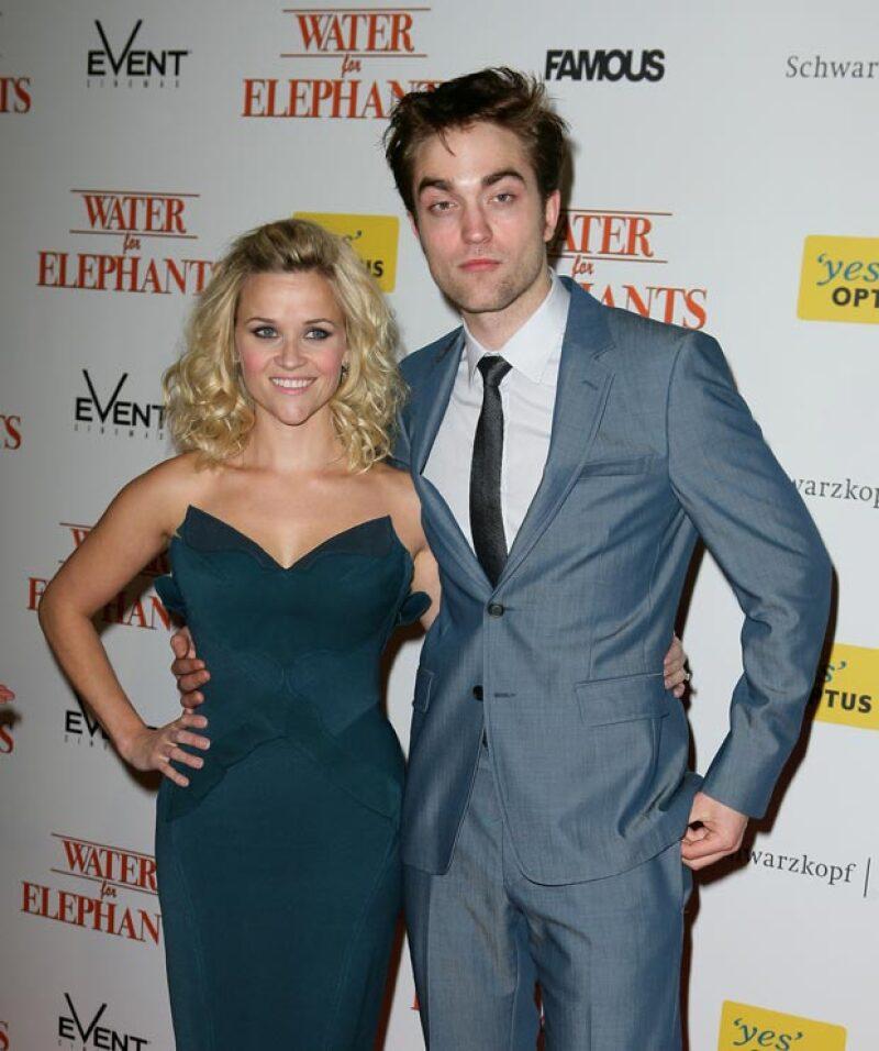 """Reese le tenía cierto """"asco"""" a Robert, quien estuvo enfermo durante la grabación de la película."""
