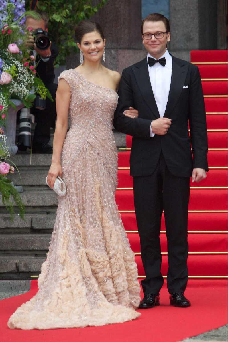Crown Princess Victoria and Daniel Westling: Gala Performance, Stockholm Concert Hall , Stockholm, Sweden - 18 Jun 2010
