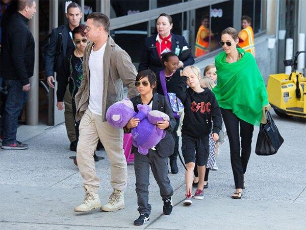 Los hijos de Brad y Angelina no quieren seguir los pasos de sus papás.