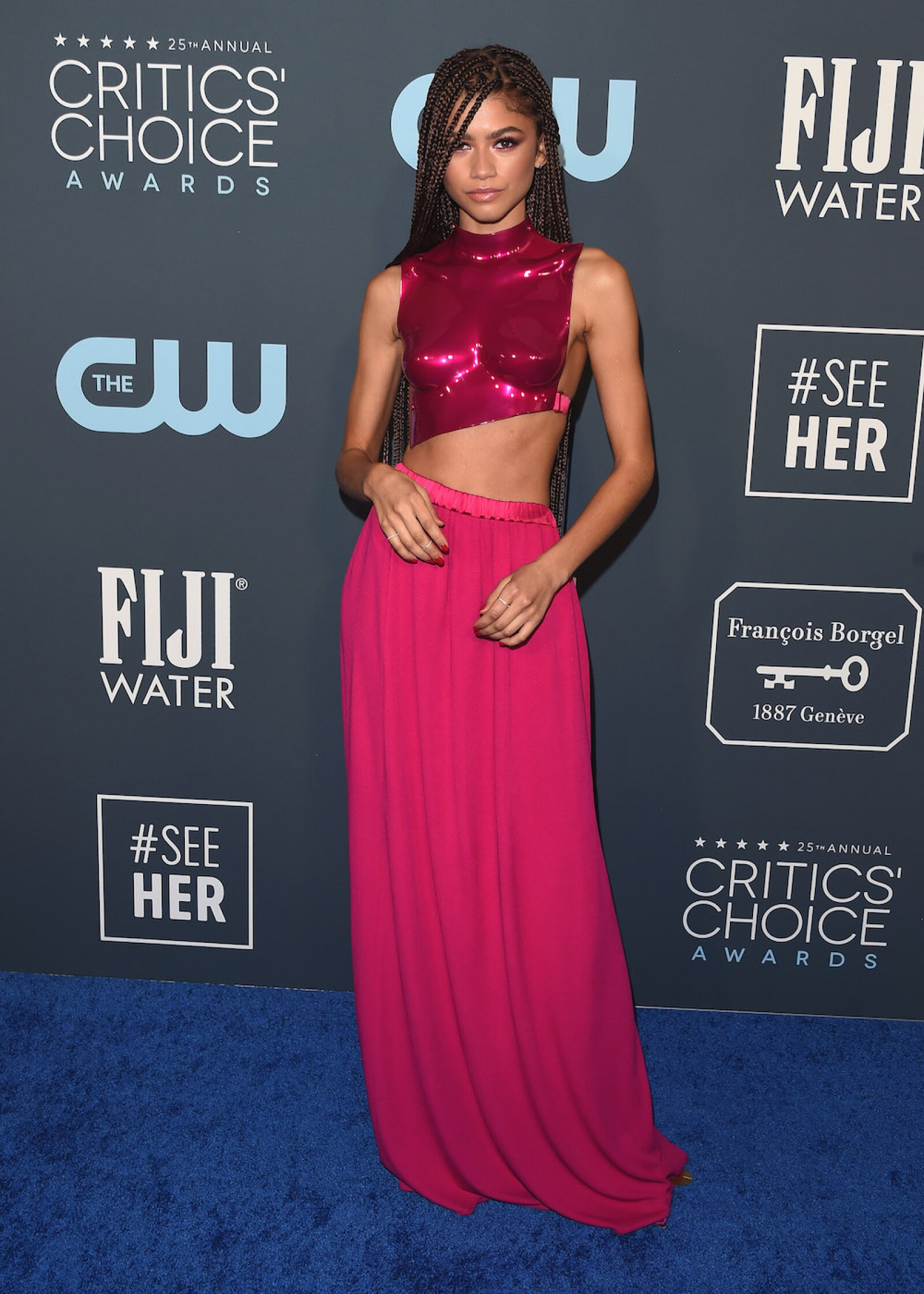 25th Annual Critics' Choice Awards, Arrivals, Barker Hanger, Los Angeles, USA - 12 Jan 2020