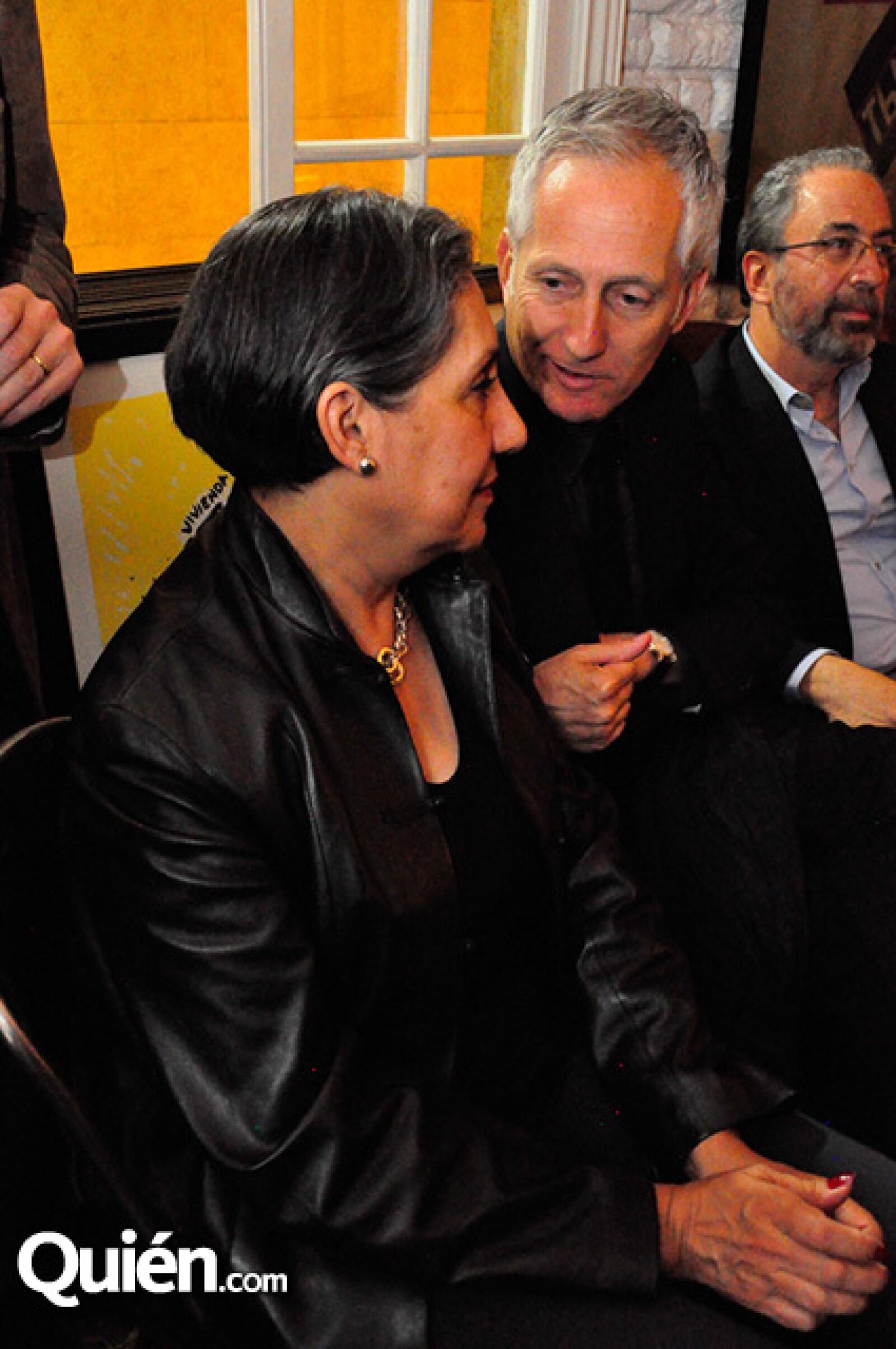 Susana García y Bernardo Gómez Pimienta