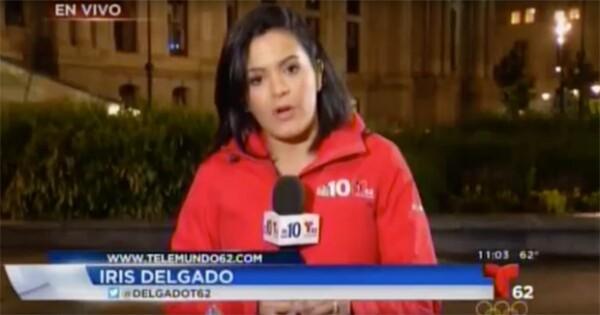 Iris Delgado es reportera en Telemundo 62.