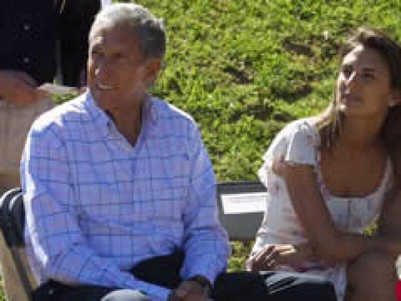 Arturo Montiel Rojas, ex gobernador del Estado de México, y su ex esposa Maude Versini. (Foto: Archivo Quién)