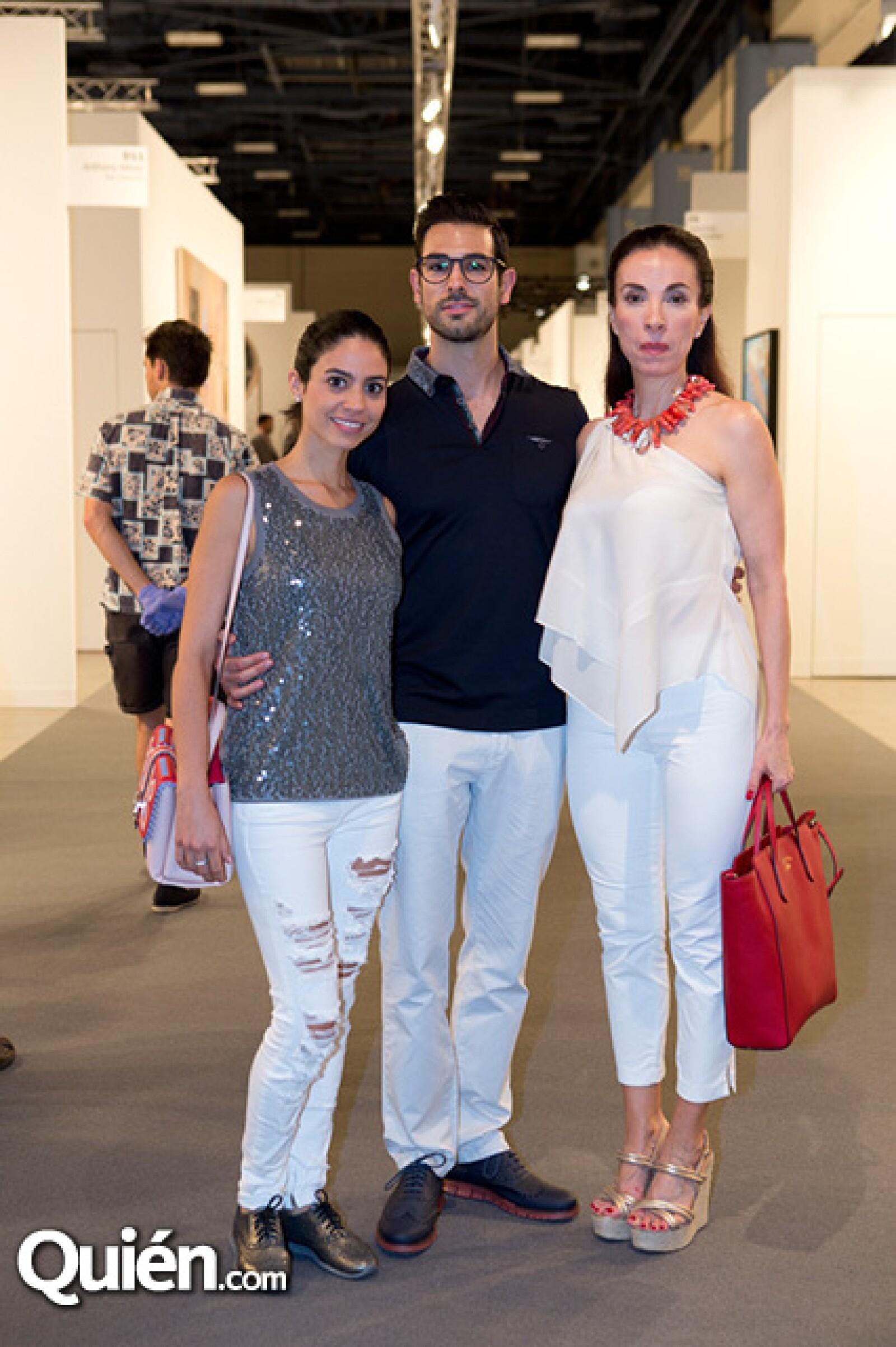 Ana Camargo, Francisco de la Vega y Martha Ramos