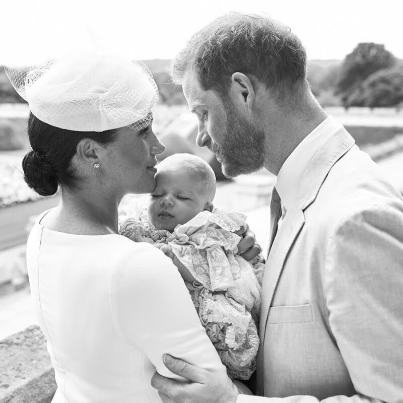 Meghan Markle, príncipe Harry y Archie Harrison