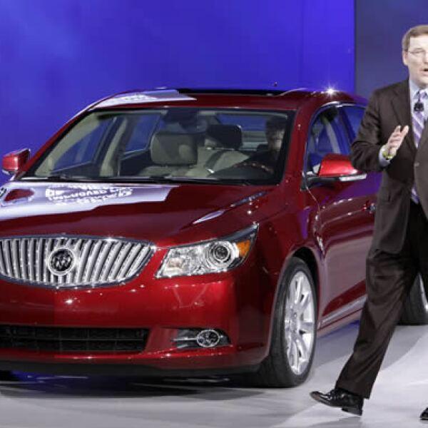 Los autos que está presentando GM son más estratégicos e innovadores, como el LaCrosse de Buick.