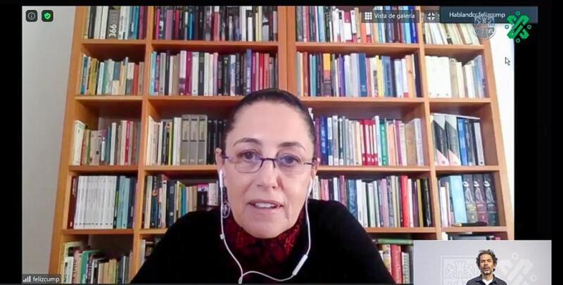 Claudia Sheinbaum se aísla