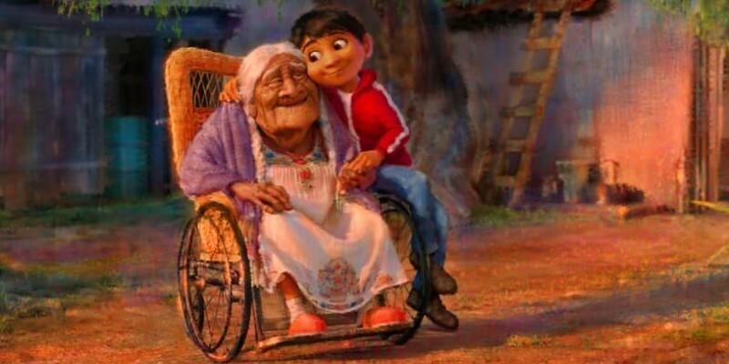 Miguel, niño mexicano de Pixar