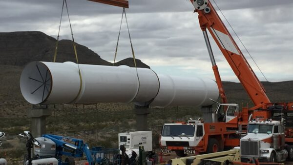 hyperloop one ductos