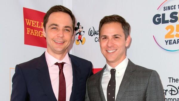 Jim parsons y su novio,  Todd Spiewak