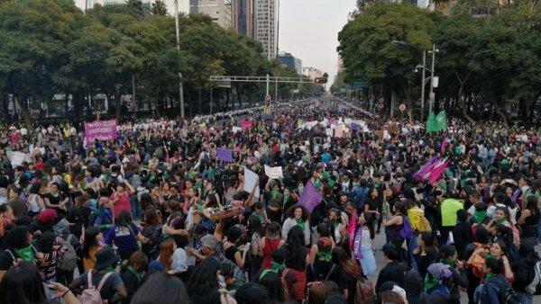 marcha feminista 25 noviembre