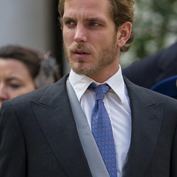 """Andrea Casiraghi es padre de Alexander """"Sacha""""."""
