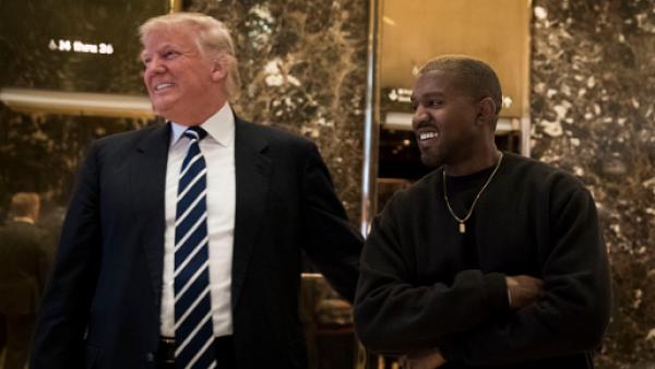 Kanye y Trump