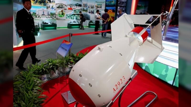 China museo bomba atomica