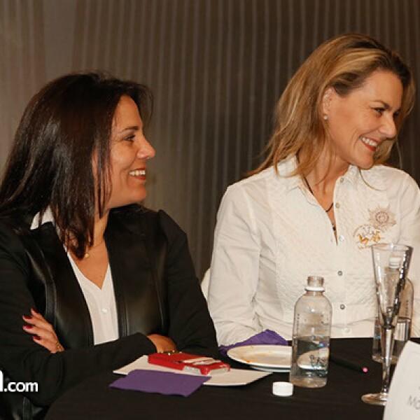 Camila Muñoz y Sandra Macouzet