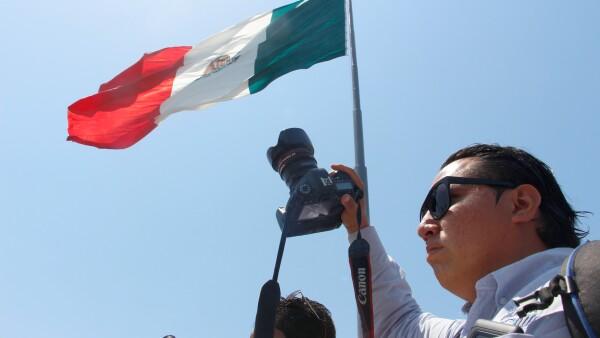 PROTESTA REPORTEROS ACAPULCO 3