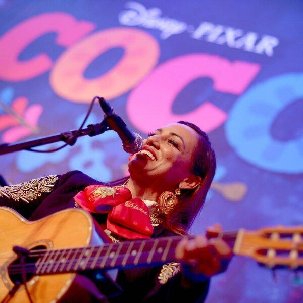 Premiere de Coco en Los Ángeles