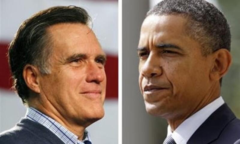Barack Obama y Mitt Romney podrían disputarse la presidencia si el republicano es electo candidato por su partido. (Foto: CNNMoney)