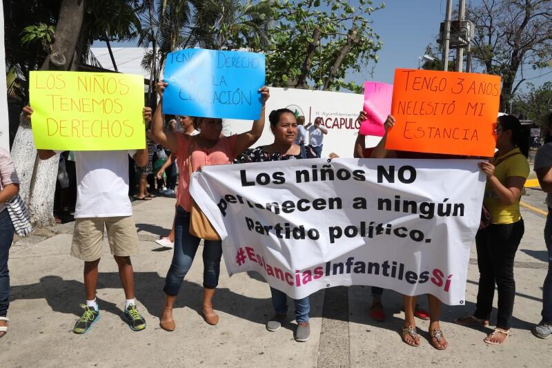 Protesta Acapulco