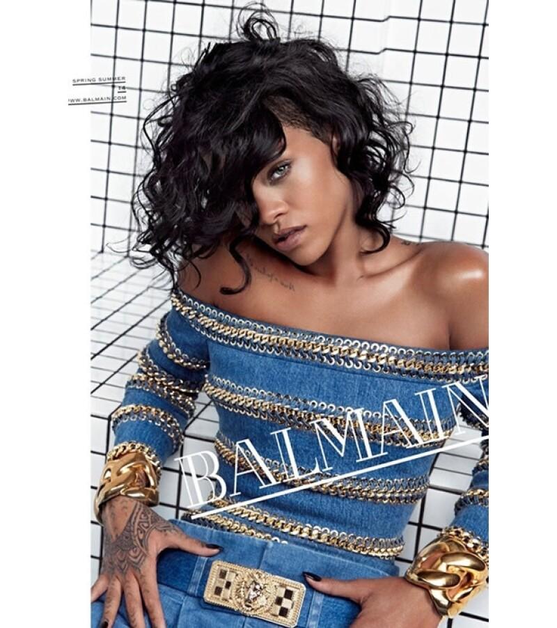 La cantante ha firmado un importante contrato con la casa de moda francesa Balmain para ser su imagen Primavera-Verano 2014. Entérate de todos los detalles de esta campaña.
