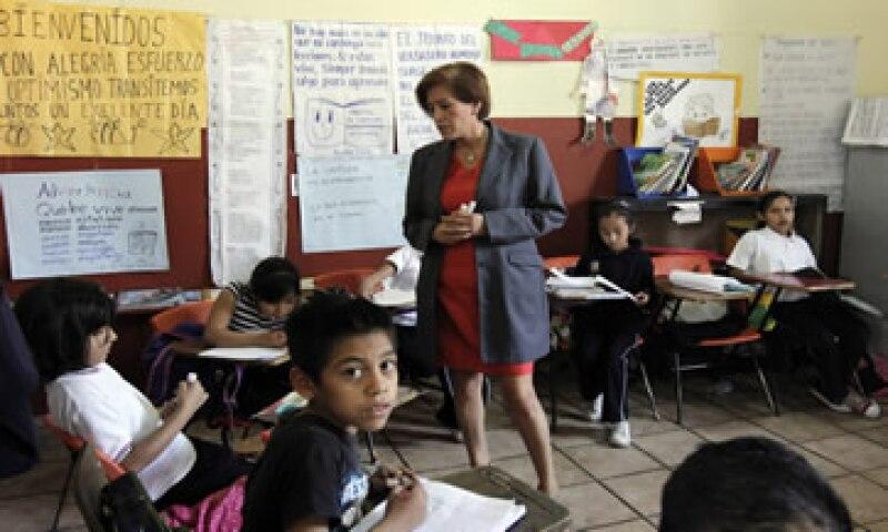 La suspensión de la evaluación docente también afecta a algunos maestros que quieren ser promovidos. (Foto: Cuartoscuro )
