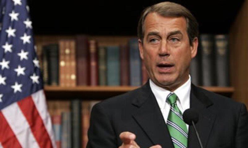 Boehner fue el principal negociador republicano el año pasado durante las discusiones para elevar el techo de deuda.  (Foto: AP)