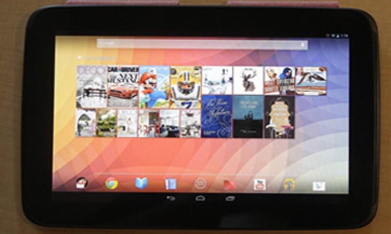 El nuevo Nexus 10 de Google, fue fabricado en conjunto con la empresa Samsung. (Foto: AP)