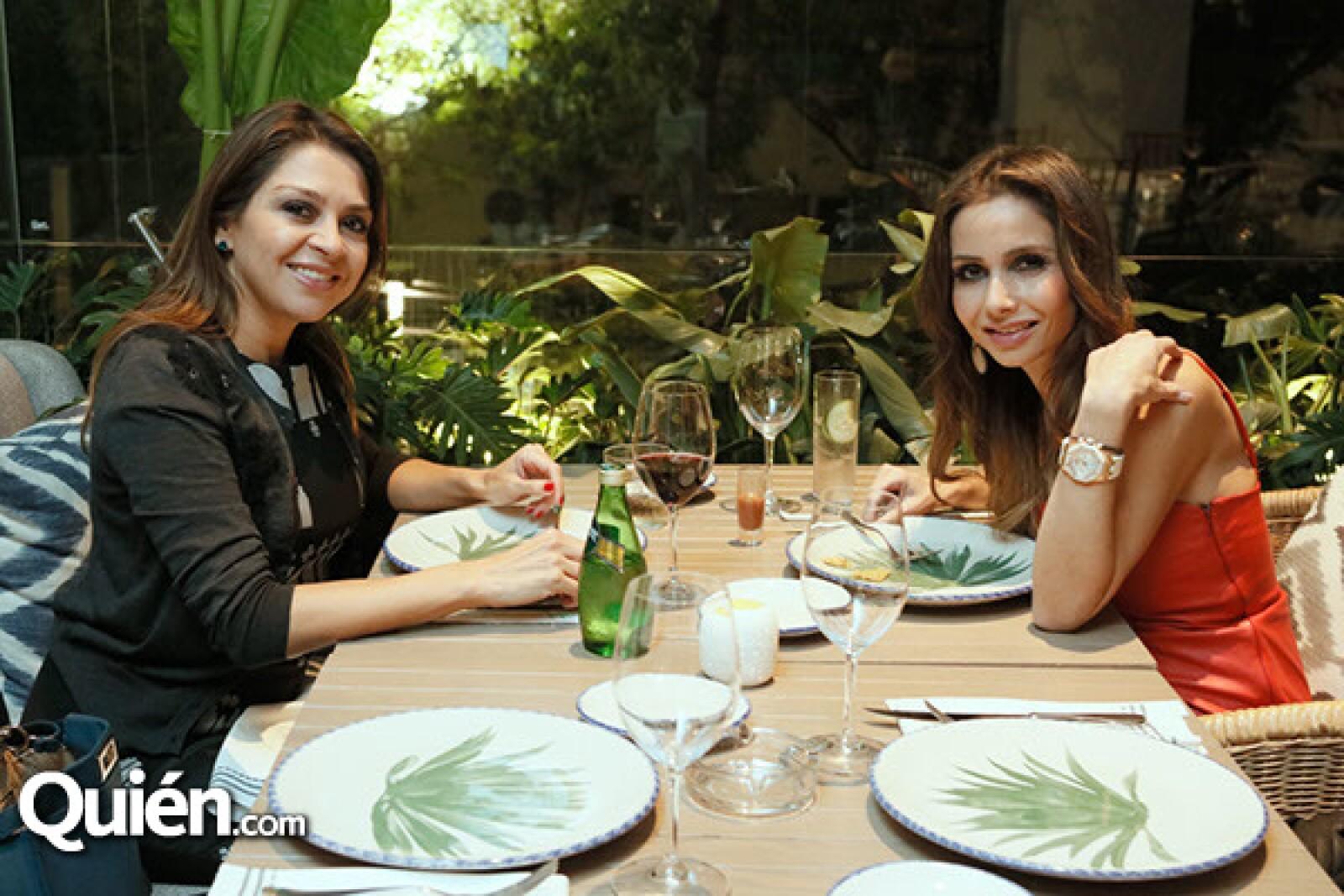 Alejandra Lugo y Bárbara Quintero