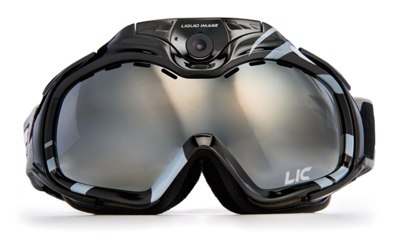 Conserva en video tus aventuras al esquiar con este visor-cámara Liquid Image de 12 MP que graba en Full HD (1080p) y transmite en vivo vía Wi-Fi (399 Apex HD + Wi-Fi). Precio 400 dólares.