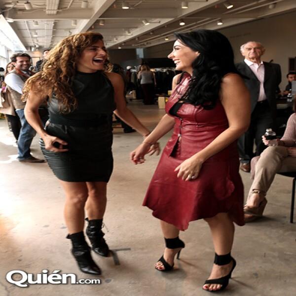 Paola Saad y María Laura Salinas