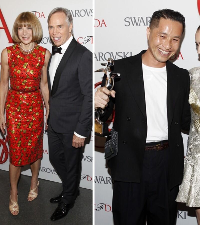 Anna Wintour, Tommy Hilfiger y Phillip Lim.