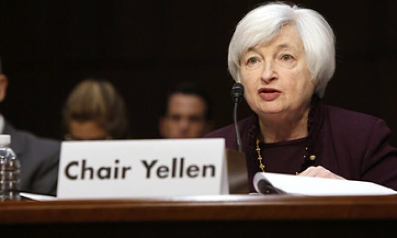 La presidenta de la Fed compareció ante una Comisión Económica Conjunta del Congreso de Estados Unidos. (Foto: Reuters)