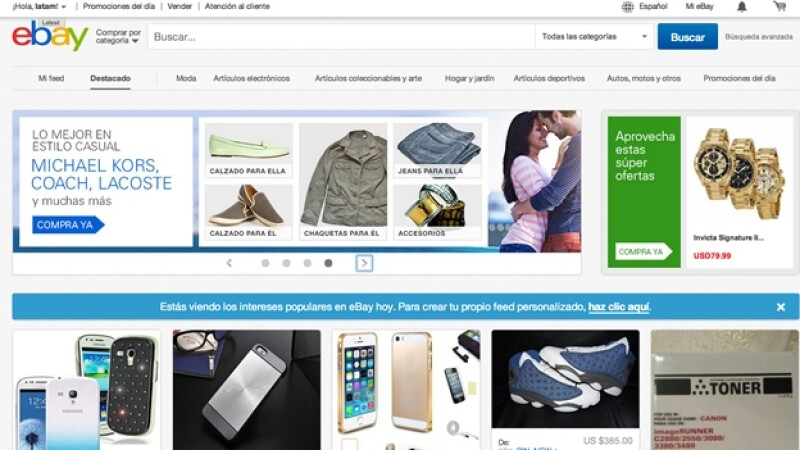 ebay latinoamerica