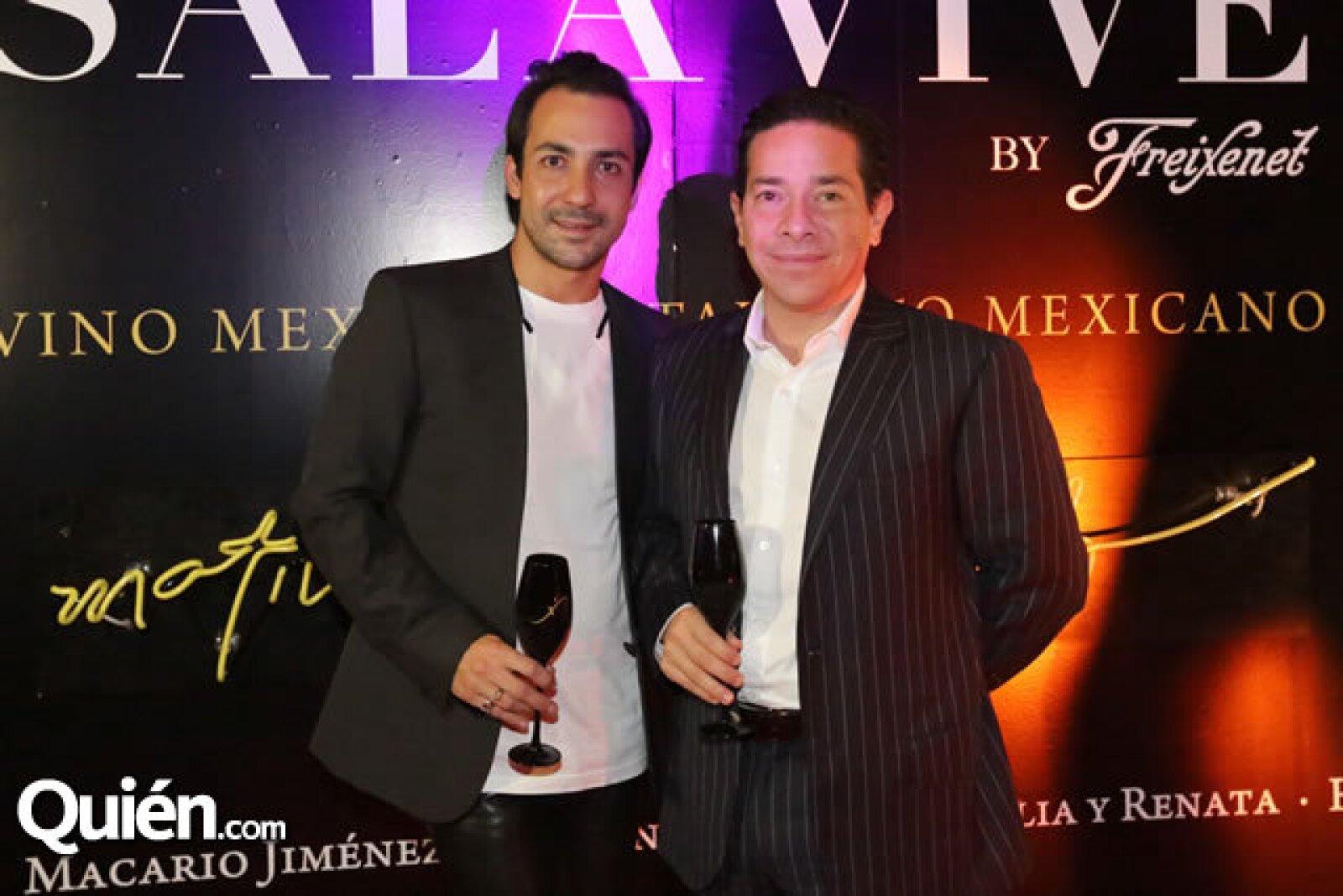 Alejandro Carlín y William Gaber