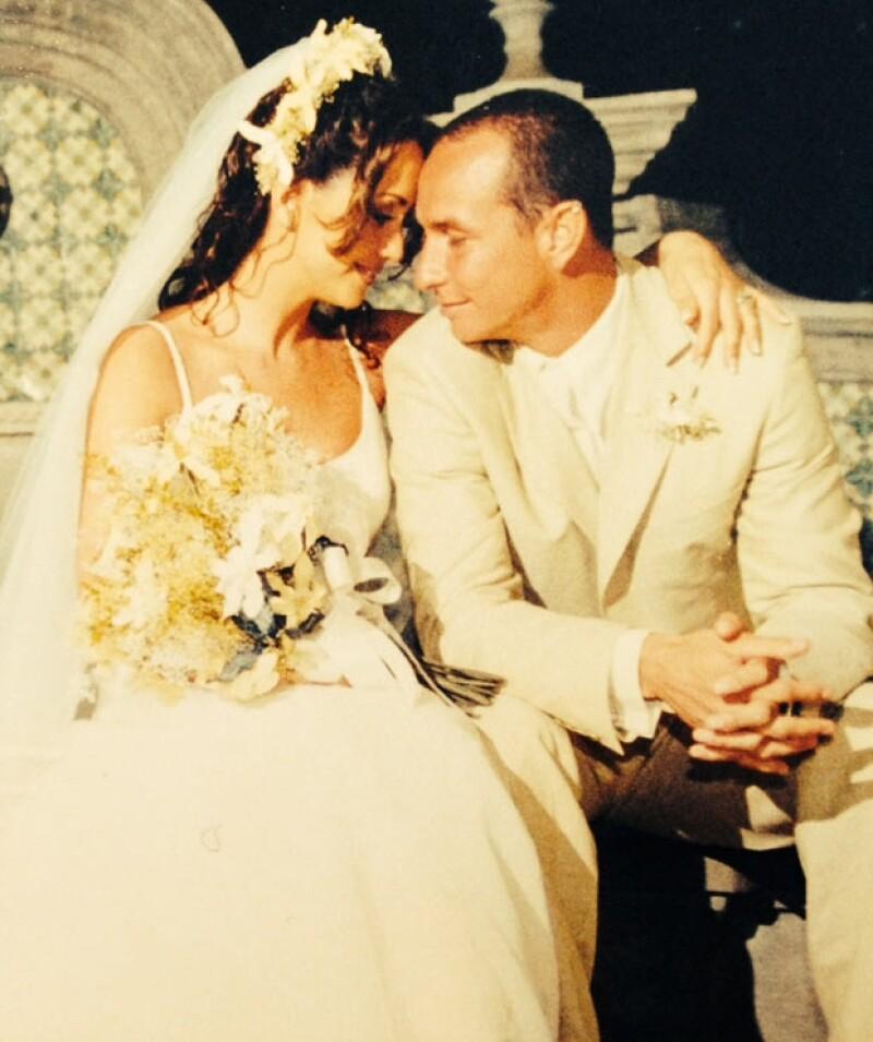 Andrea y Erik tienen dos hijas: Mía y Nina.