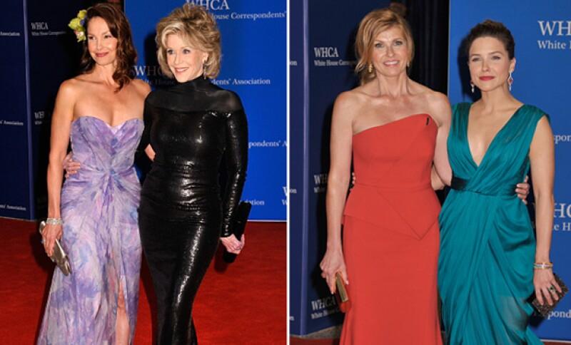 Jane Fonda, Ashley Judd, Connie Britton y Sophia Bush también asistieron a la gala.