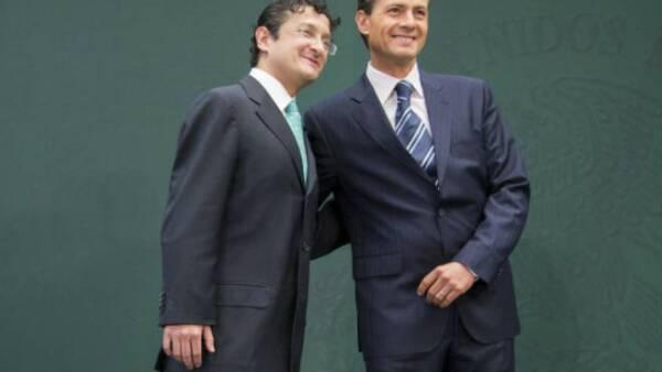 Virgilio Andrade Martínez y Enrique Peña Nieto