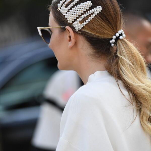 Street Style, Spring Summer 2020, New York Fashion Week, USA - 09 Sep 2019