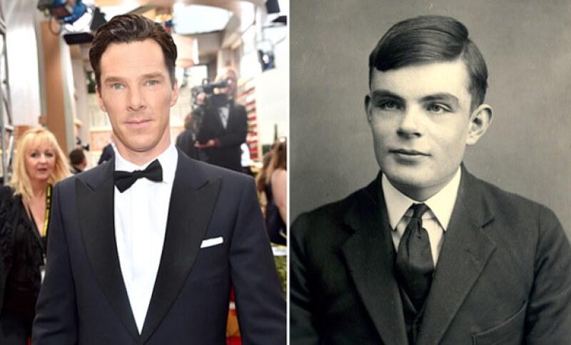 Benedict Cumberbatch interpretó a Alan Turing en The Imitation Game.