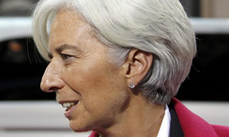 El FMI, presidido por Christine Lagarde, desconoce si Libia les pedirá asistencia económica. (Foto: Reuters)