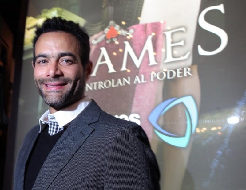 Luis Roberto Guzmán quiere hacer guiones para cine.