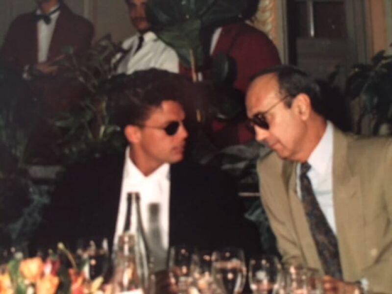 Con Hugo López